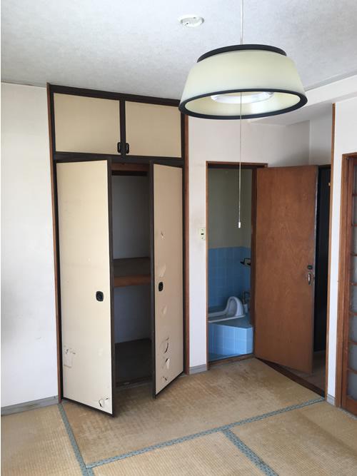 トイレ before 画像