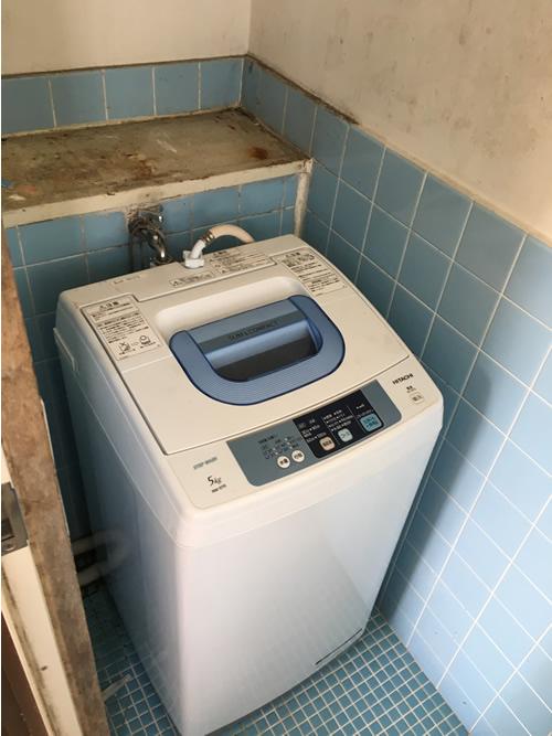 洗濯機置き場 before 画像