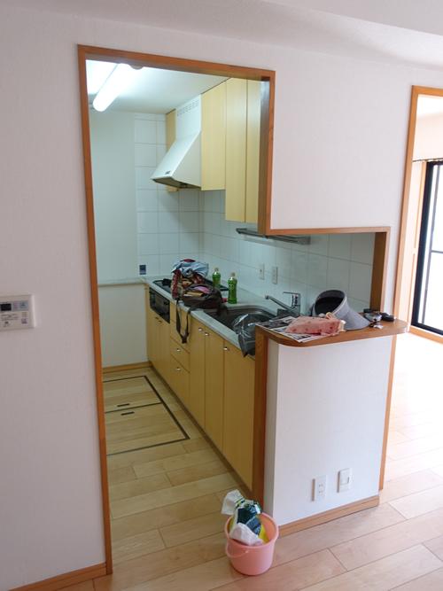 キッチン 画像 before