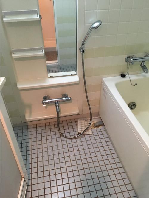 浴室 before 画像