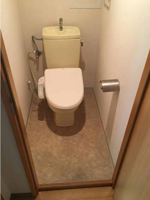 トイレ before 画像1